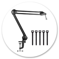heavy duty table mic stand